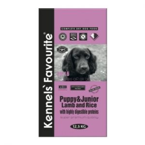 Kennels' Favourite – Puppy & Junior Lamb and Rice (20kg)